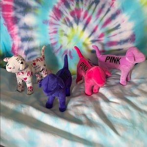 Victoria's Secret Pink dog puppy plush stuffed
